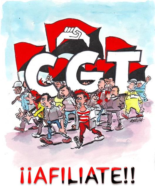 Afiliat a la CGT